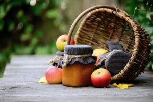 Die besondere Mischung am Morgen Kirsch-Apfel-Marmelade