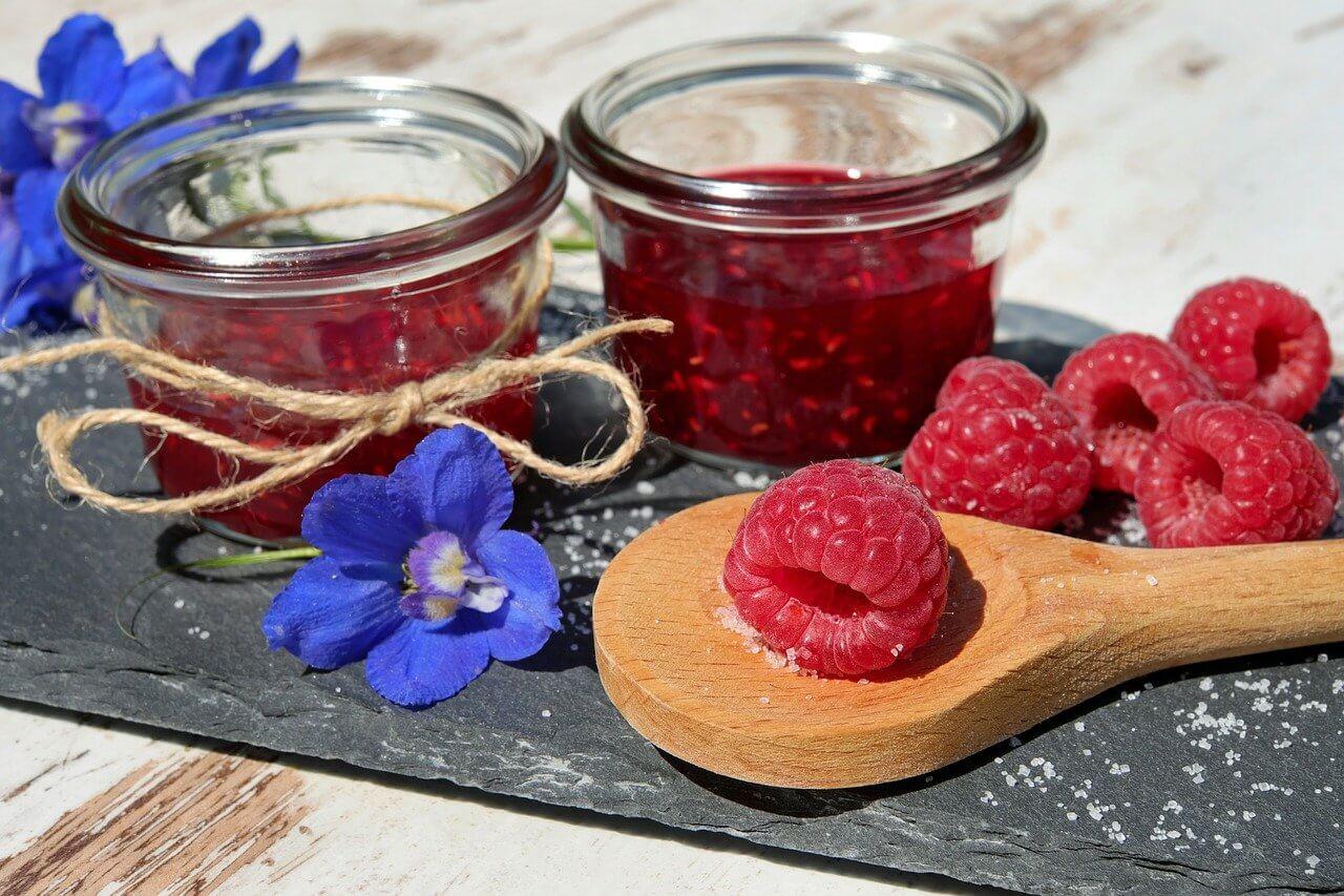 Kirsch-Himbeer-Marmelade
