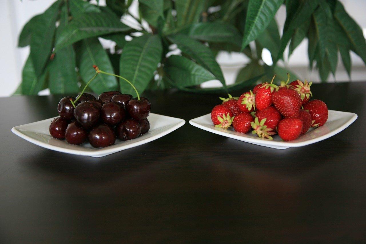 Erdbeer-Kirschmarmelade selber machen