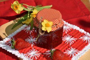 Erdbeer-Karamell-Marmelade selber machen