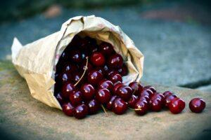 Mandel-Kirschmarmelade einkochen